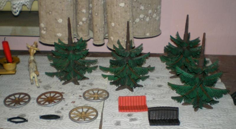 Gestaltung eines Dioramas mit den Tannen von Playmobil 20130114