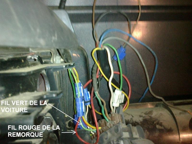 Problème de branche ment faisceau prise d'attelage sur feux arrière Branch12