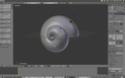 Snail création modèlisation escargot Captur23