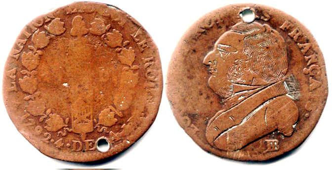 monnaie gravée 0610
