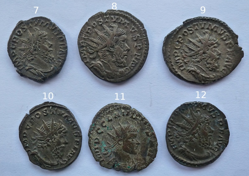 Antoniniens de Postume + un de Claude II P1010417