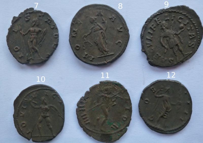 Antoniniens de Postume + un de Claude II P1010418