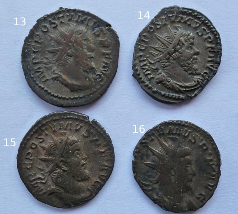 Antoniniens de Postume + un de Claude II P1010419
