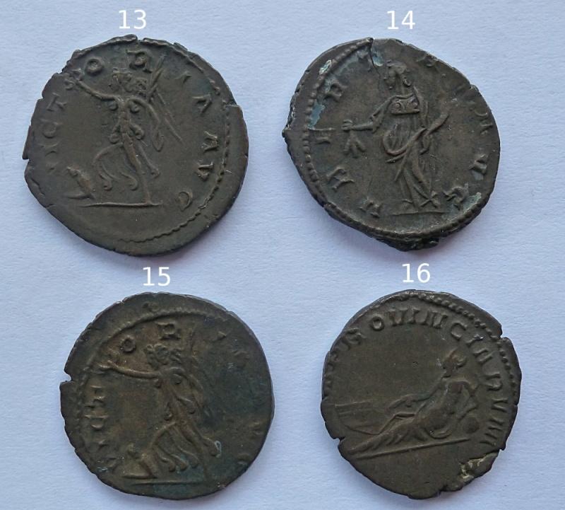 Antoniniens de Postume + un de Claude II P1010420