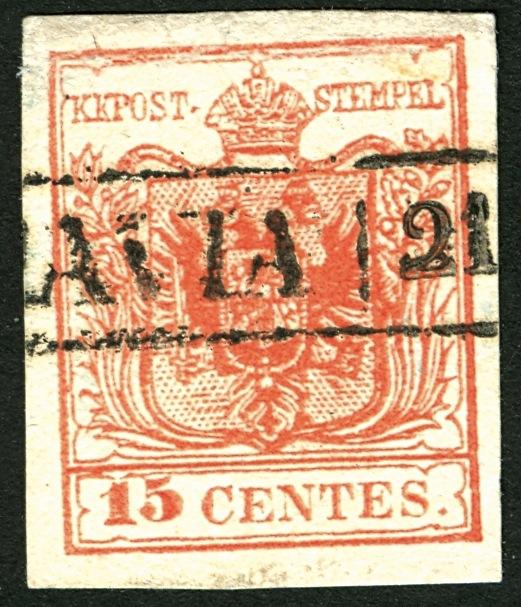 6 Kreuzer 1850 Type Ib : Abart ?  15_cen11