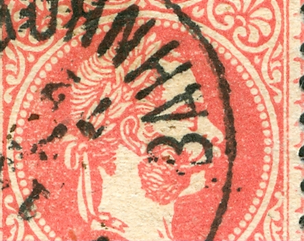 Nachtrag - Freimarken-Ausgabe 1867 : Kopfbildnis Kaiser Franz Joseph I 1867_g11