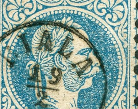 Nachtrag - Freimarken-Ausgabe 1867 : Kopfbildnis Kaiser Franz Joseph I 1867_g12