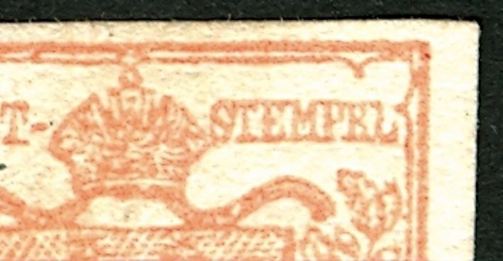 6 Kreuzer 1850 Type Ib : Abart ?  Detail10