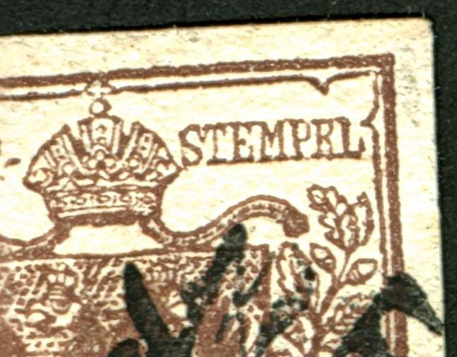 6 Kreuzer 1850 Type Ib : Abart ?  Stempr10