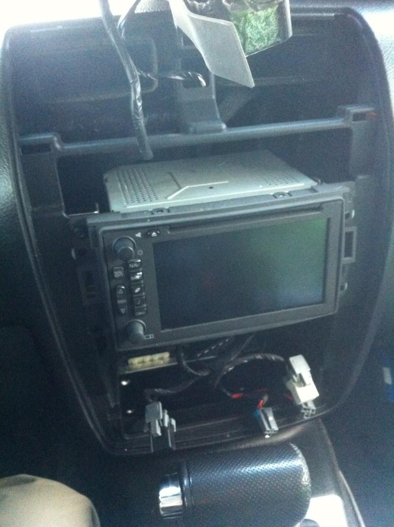 installation gps dvd bluetooth...Hummer h3 Photo810