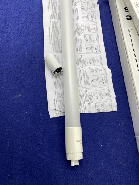Changement tube néon T8 18W Aquatlantis par équivalent LED pour 5 euros maxi Fichie53