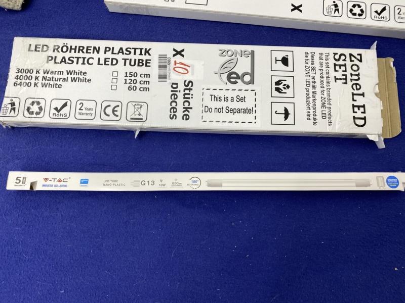 Changement tube néon T8 18W Aquatlantis par équivalent LED pour 5 euros maxi Fichie54
