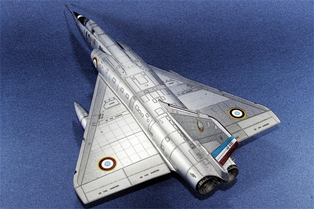Mirage IVA Heller 1/48ème - Vitrine Imgp6830