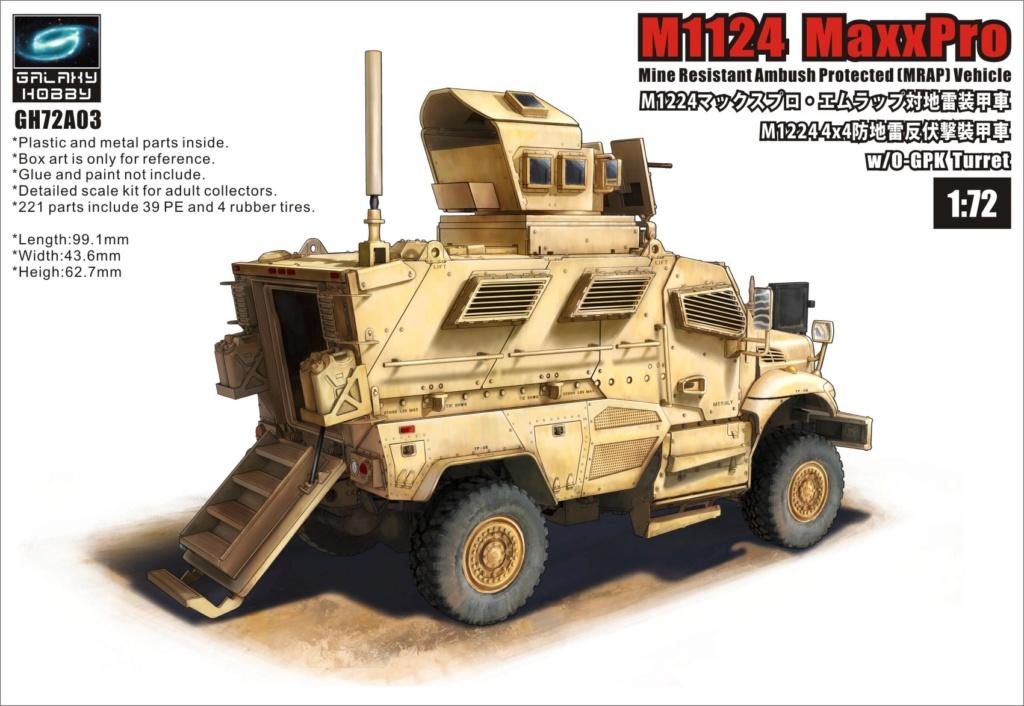 [ GALAXY HOBBY / T-MODEL ] M1224 MAXXPRO MRAP 15345710
