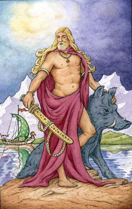 Runes et chamanisme Freyr510