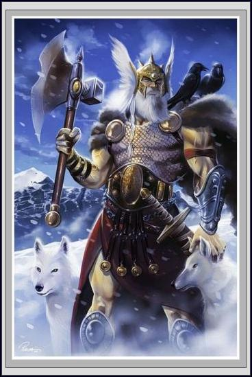 Runes et chamanisme Odin-w11