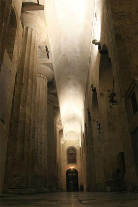 Syracuse, l'ancien grand temple d'Athéna devenu cathédrale Siracu10