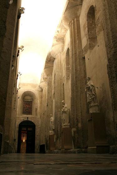 Syracuse, l'ancien grand temple d'Athéna devenu cathédrale Siracu12