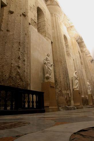 Syracuse, l'ancien grand temple d'Athéna devenu cathédrale Siracu14
