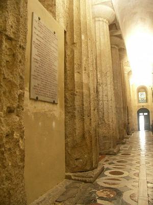 Syracuse, l'ancien grand temple d'Athéna devenu cathédrale Syracu13