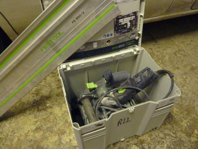 Retour utilisation sur disqueuse/ponceuse Festool DSC AG 125. P1060410