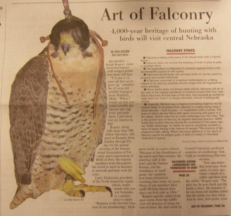 ประวัติศาสตร์กีฬาล่าสัตว์ด้วยเหยี่ยว History of Falconry 54616_10