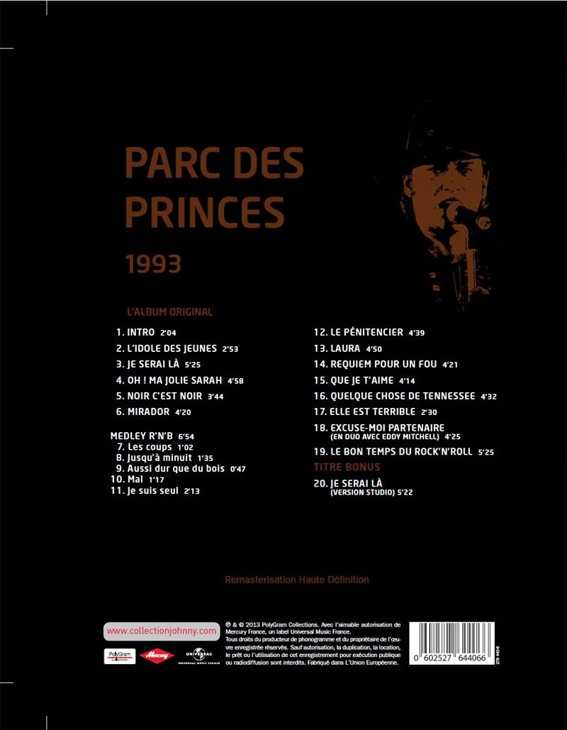 N° 50 1993 Parc des Princes Jhcoll19