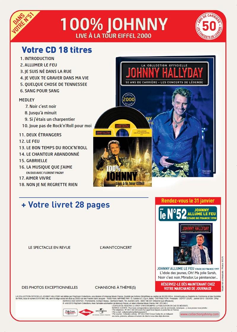 N° 51 2000 100% Live à la Tour Eiffel Jhcoll23
