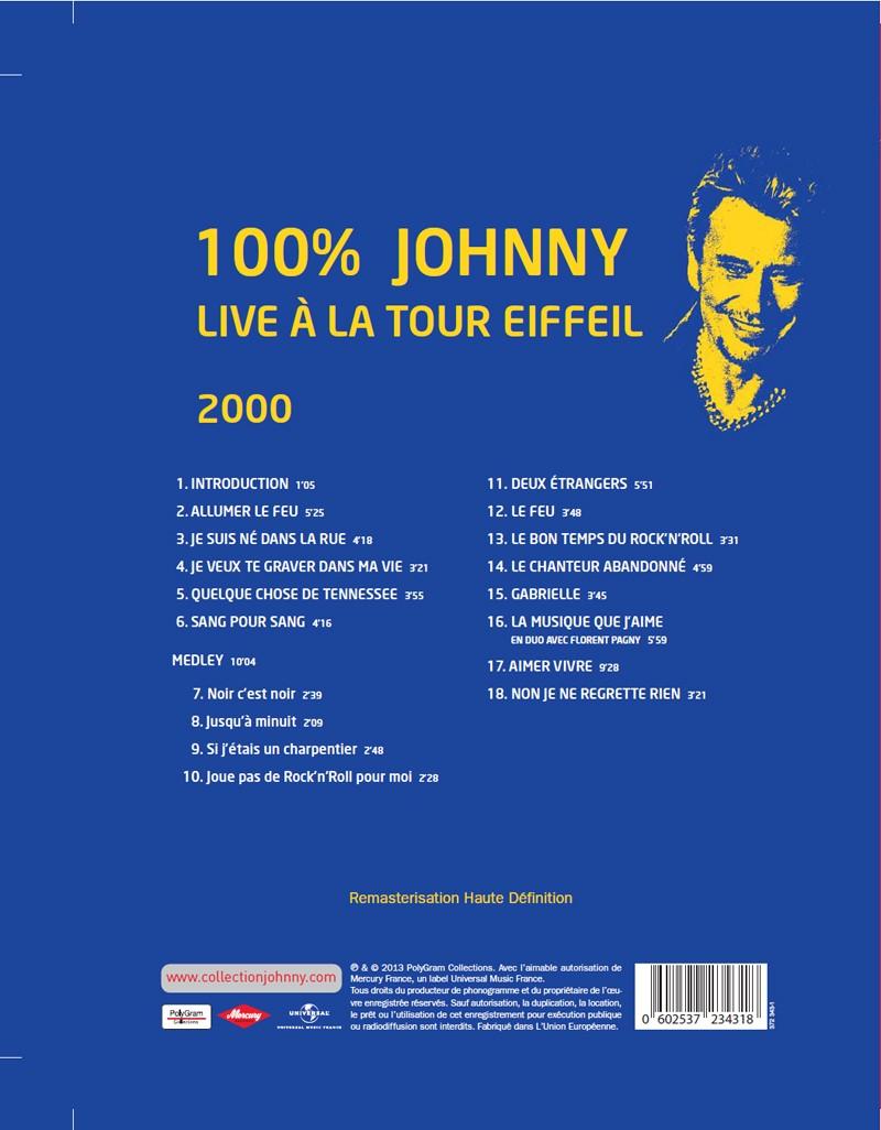 N° 51 2000 100% Live à la Tour Eiffel Jhcoll25