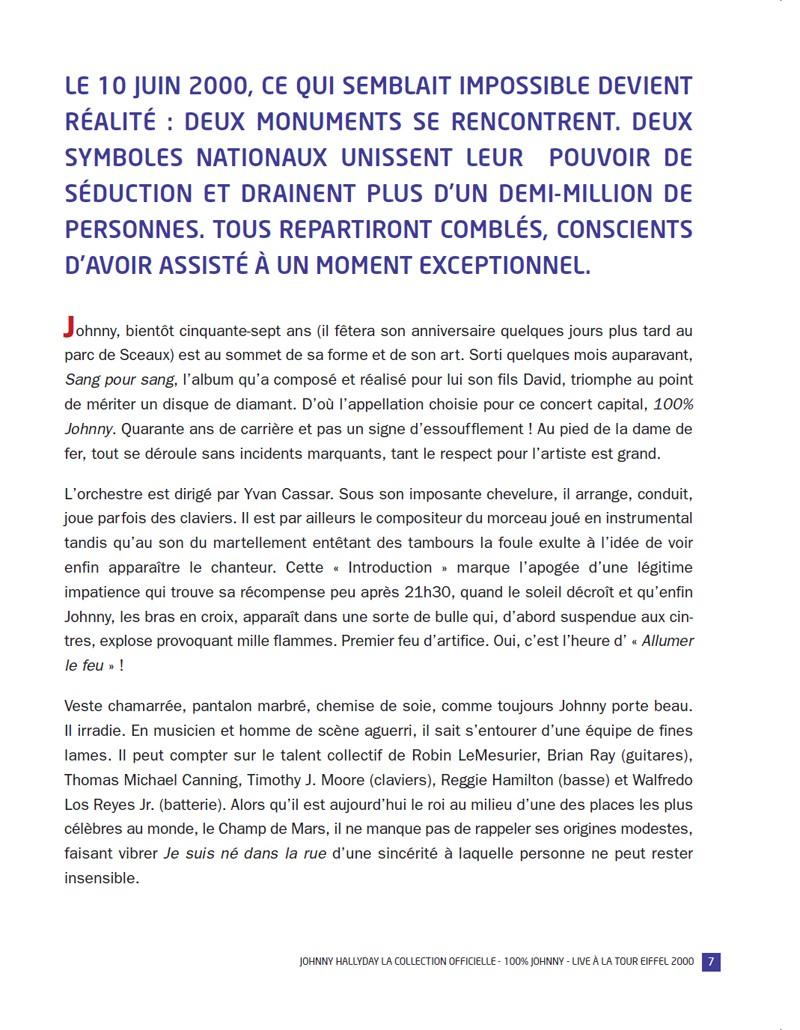 N° 51 2000 100% Live à la Tour Eiffel Jhcoll27