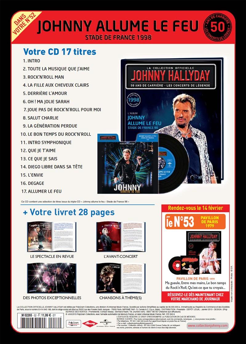 Volume 52 1998 Johnny allume le feu Jhcoll29