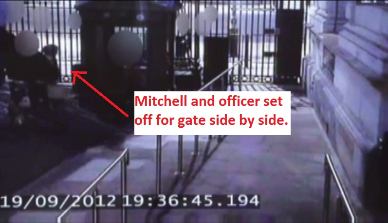 Does analysis of 'Plebgate' footage support Mitchell's 'exoneration'? Goforg10