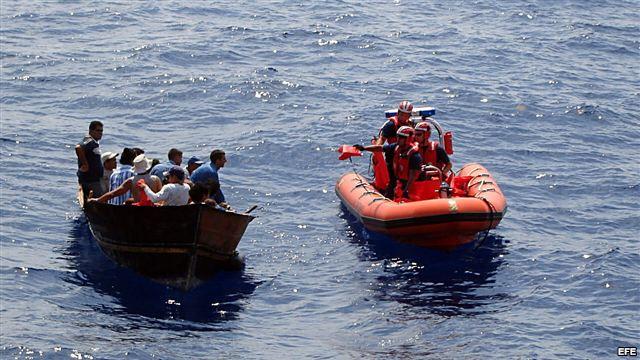 Repatrian a una veintena de cubanos desde costas de EEUU  Afe38e10