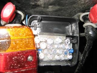 eclairage à DEL pour velo ( LED light for bike) Light emitting diode Img_0311