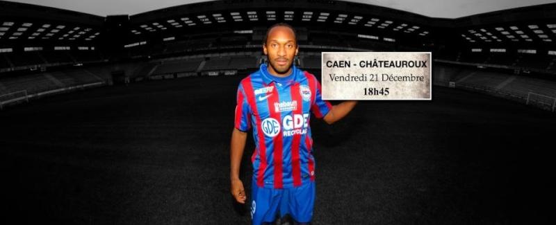 [19e journée de L2] SM Caen 1-0 Châteauroux  J1910
