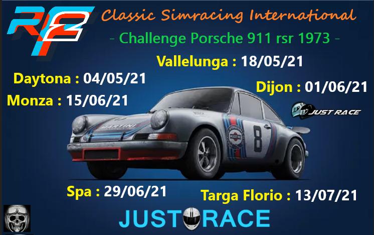 Challenge Porsche 911 RSR 1973. 911rsr11