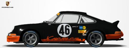 Challenge Porsche 911 RSR 1973. P1710