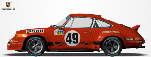 Challenge Porsche 911 RSR 1973. P1910