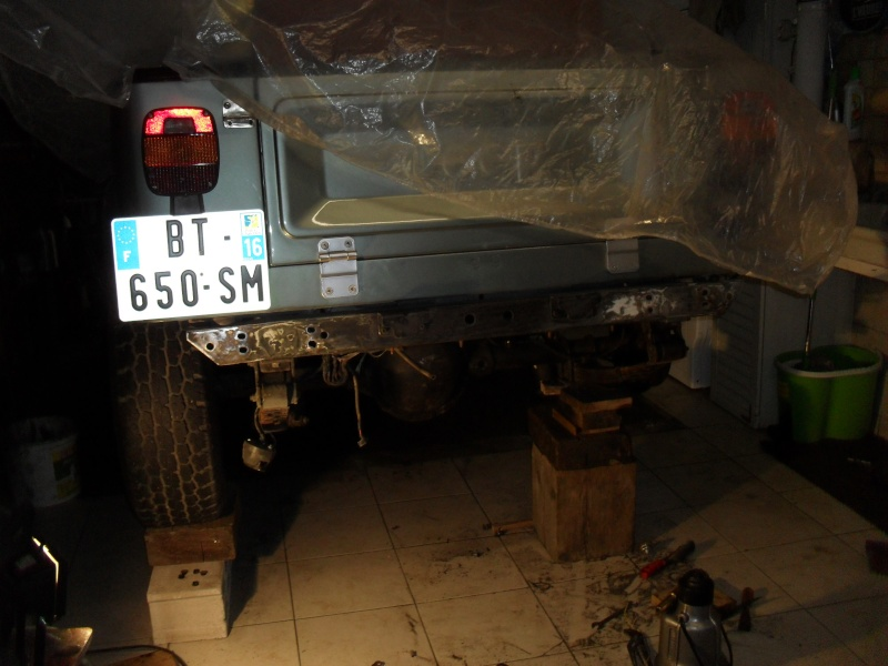 Restauration de la Jeep a Tutu 1310