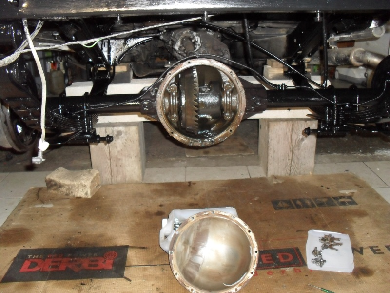 Restauration de la Jeep a Tutu 4310