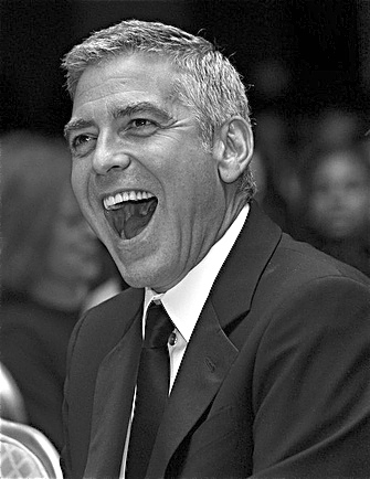 George Clooney gray hair effect Enhanc16