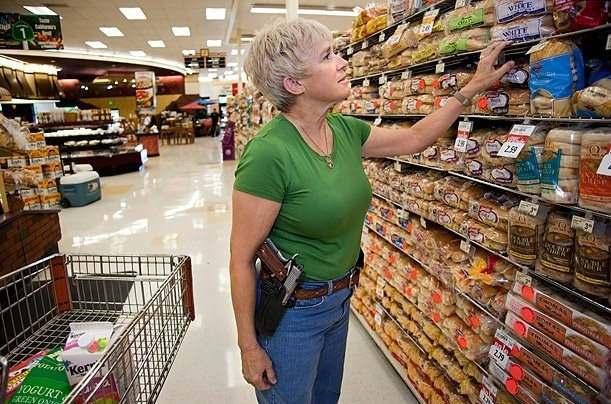 Concealed Carry in Walmart Welldr10