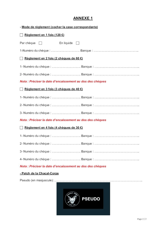 FORMULAIRE D'ADHESION POUR L'ANNEE 2013 Formul12