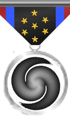 Exploration Medal: This medal is awarded to a member of the Silver Arrows who have with one char visited all Systems and Bases (for Bases counts also info acquired from bars).