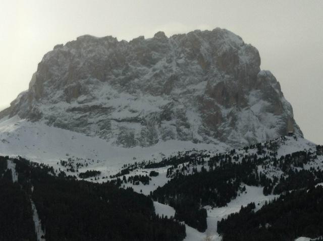prima invernale Pilastro Magno al Sassolungo Sossol10