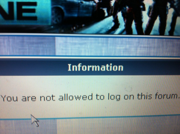 Member not allowed to join or log in forum Log_in10