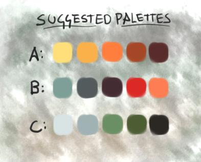 Monthly Art Challenges! Palett10