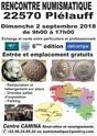 6ème Rencontre Numismatique à Plélauff : 2 septembre 2018 Rencon10