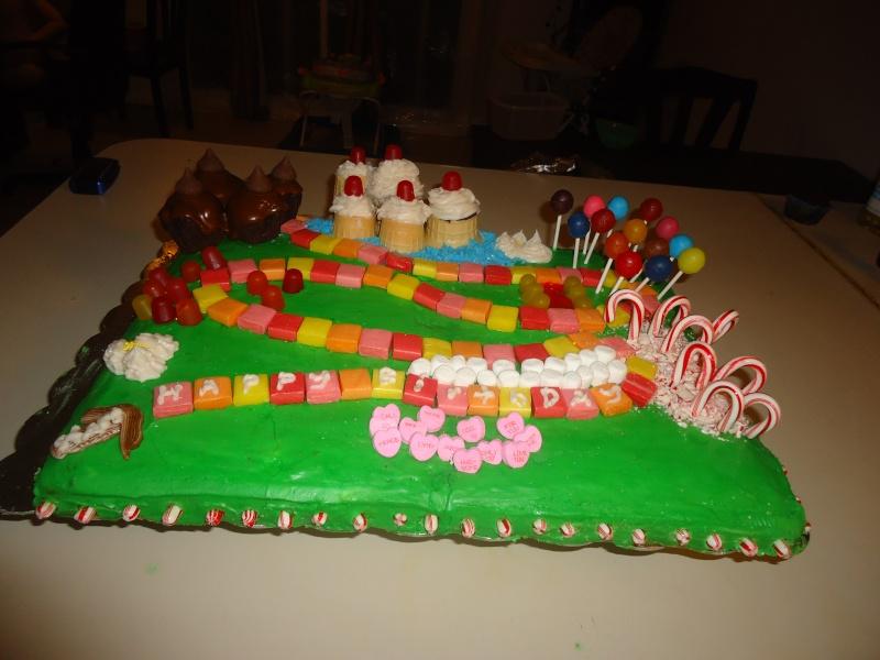 pinks cakes  Dsc00511