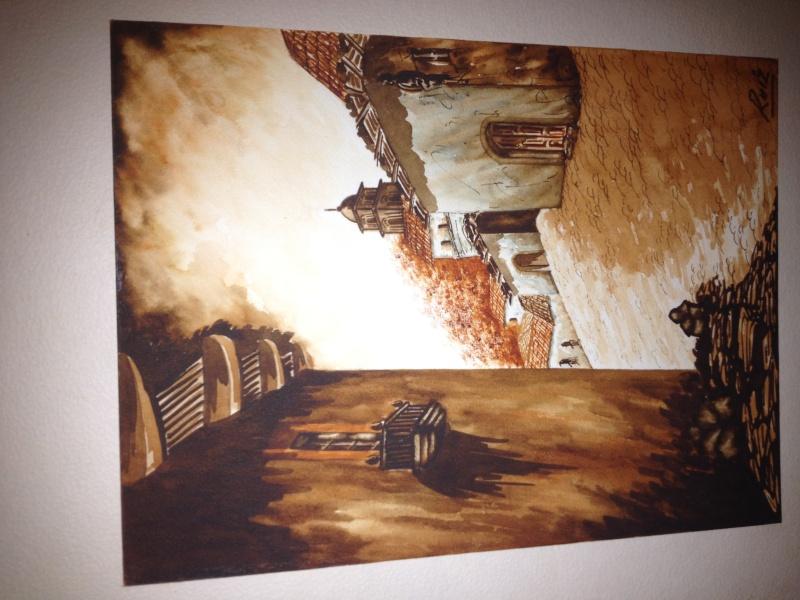 Watercolor Signed* Ruiz  Help please!  Photo-51